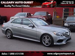 2014 Mercedes-Benz E-Class E350 4-MATIC NAVI/B.CAM/LEATHER/PANO-