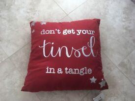 NEW Xmas cushion