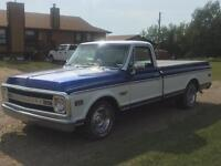 1969 Chevy pick-up C10 half ton $19500.00