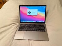 "HARDLY USED MACBOOK PRO 2017 13.3"" LAPTOP, 2.3GHZ I5, 8GB RAM, 128 GB SSD, SPACE GREY,FULLY WORKING"