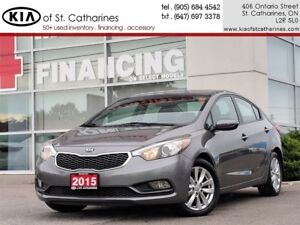 2015 Kia Forte LX+ Sunroof | Bluetooth | Cruise | Heated Seat