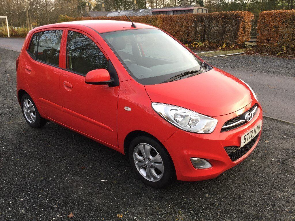 2012 (12) Hyundai i10 Active 1.2 (85 BHP) - Low Mileage