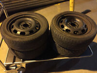 Set 4x Steel Wheels from mercedes A-class