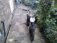 65cc pit bike (dirt, mini , midi, ktm ,yz ,yx ,ped , scooter)