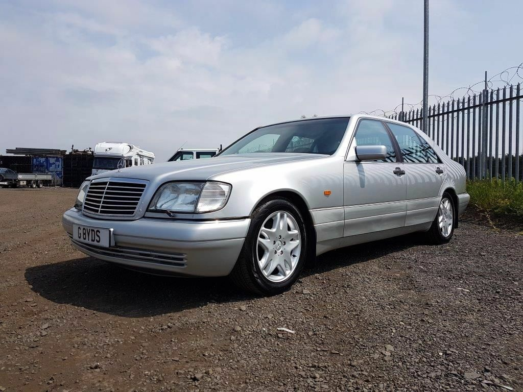 1998 mercedes benz s500 automatic silver w140 s class 141 000 1495 ono