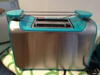 m and s teal colour toaster BNWT