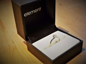 Platinum Round Brilliant Engagement Ring: GIA, 0.5Ct, E, VS2, V.Good, RRP: £4375