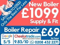 Need New Boiler? Worcester, Vailliant / Main, Ideal, Glow-worm, Potterton, Baxi, Installation