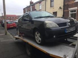 Renault Clio 1.2 breaking for spares