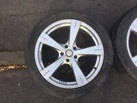 """20"""" Inovit Prestige Spin alloy wheels - fit VW T5"""