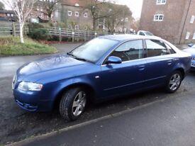 Audi A4 1.9 TDI Blue