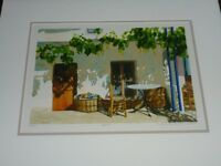 Ilana Richardson Limited Edition Mounted & Framed Picture