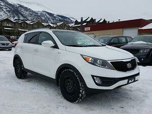 2016 Kia Sportage EX AWD Leather Sunroof Winter tires and rims