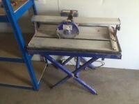 240v 600 watt wet bridge tile saw