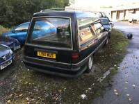 Vauxhall carlton hearse auto spares repair or export £595 ovno