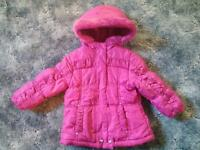 "Girls ""Sparkle"" Coat 24 months"