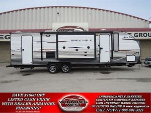 2014 Forest River Grey Wolf Limited Edition Huge Kitchen with 2