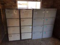 4 Drawers File Cabinets Storage Locker
