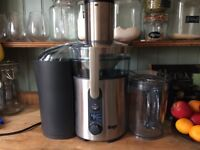 Sage Heston Blumenthal Nutri Juicer Plus Centrifugal Juicer - Silver