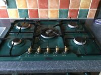Five burner gas hob