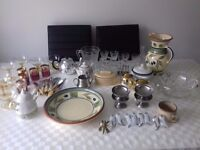 Job lot of kitchen ware Including Towerbrite and Meakin items