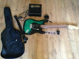Benson Electric Guitar + Amp