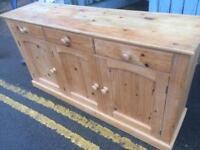 Pine dresser base / sideboard