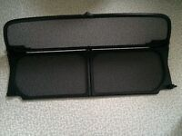BMW Mini Cooper Convertible 'wind deflector' with original carry case and instructions. R52 & R57