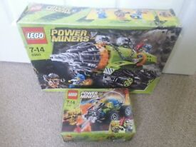 LEGO : Power Miners Bundle ***SOLD - Waiting Collection***