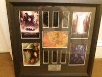 Lord of the rings the fellowship of the ring limited edition film cells framed
