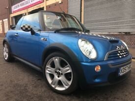 MINI Convertible 2008 1.6 Cooper S 2 door CONVERTIBLE, FULLY LOADED, F/S/H, 6 MONTHS WARRANTY