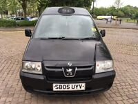 bargain peugeot expert taxi cab direct original conversion with birmingham hackney plate 8v engine