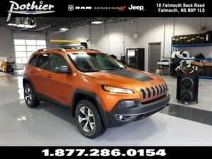2016 Jeep Cherokee Trailhawk | LEATHER | HEATED SEATS | NAV |