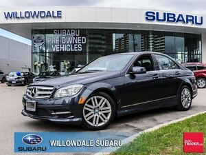 2011 Mercedes-Benz C-Class C250 4MATIC No Accident  LOW KILOMETE