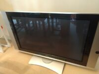 Hitachi Plasma tv 42inch; with motorised stand