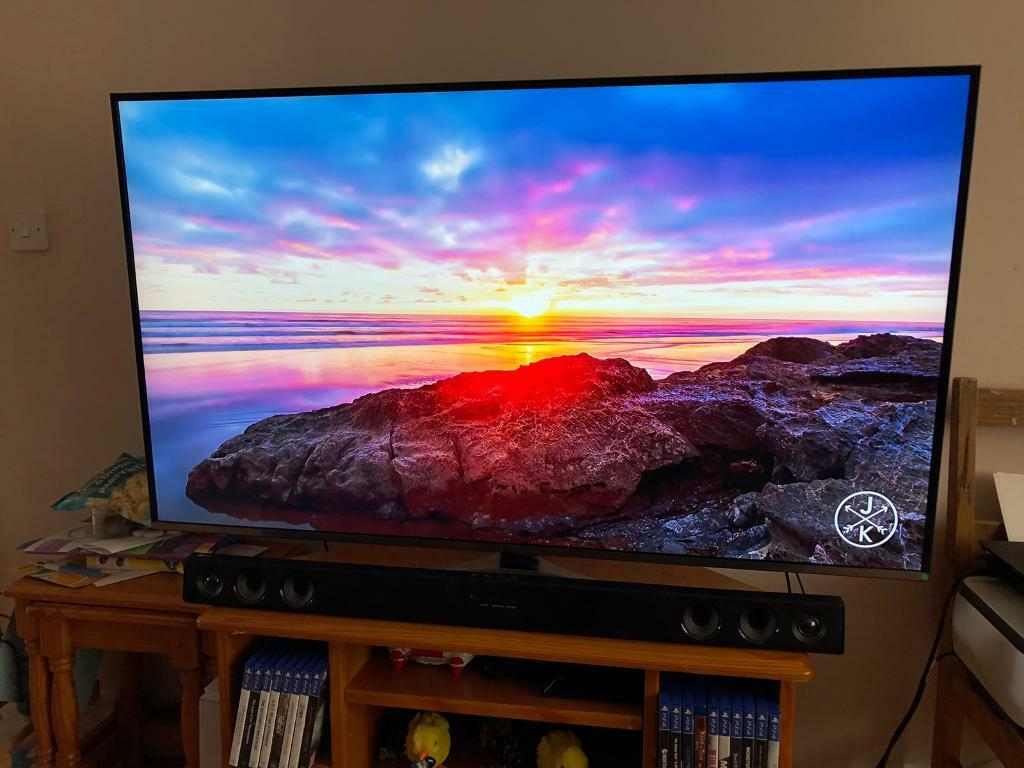 "Samsung 55"" 4K Ultra HD Smart TV + Soundbar   in Lenton, Nottinghamshire    Gumtree"