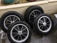 Vw 5x112 alloys brm bay baywindow t2 T3 t25 wheels & tyres