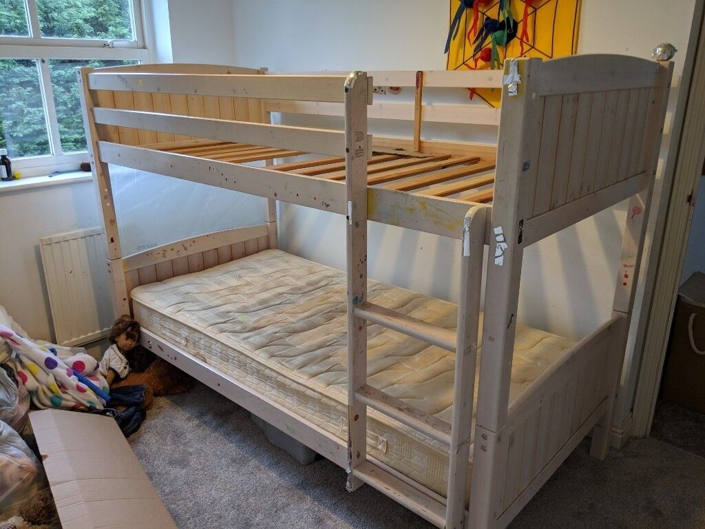 White Wood Children S Bunk Bed In Hungerford Berkshire Gumtree