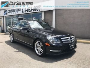 2012 Mercedes-Benz C-Class 250 4-MATIC-SN ROOF-LEATHER
