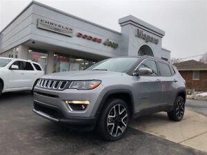 2017 Jeep Compass LIMITED,LEATHER,ALLOYS,NAV
