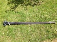 20 x 1.3 m steel fencing pins / fence posts / temporary fencing