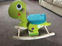 Mamas & papas dinosaur rocky horse