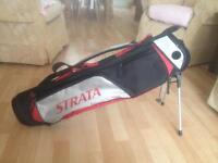 Lightweight Strata carry golf bag
