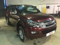 Isuzu D Max Eiger Double Cab Auto With Canopy