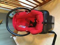 Mico AP car seat and base