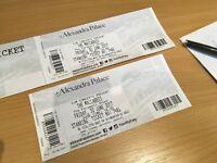 2 x The Maccabees Tickets - Fri 30th June Alexandra Palace
