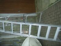 Grade 1 Commercial Grade 8 step Aluminium Ladder excellent condition only had light indoor use