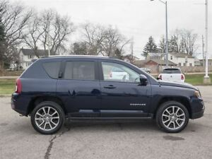 2014 Jeep Compass Limited / LEATHER/ HEATED SEATS