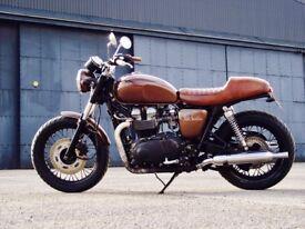 'Sweet Sensations' customised Bonneville T100