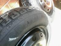 fiat punto spare wheel